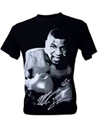 Immortal Homme Mike Tyson Boxing Heavyweight Champion T-Shirt V1 Noir Taille XL