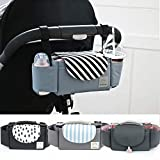 PROKTH Borsa portaoggetti per passeggino, borsa per neonati, borsa per mamma, pannolino per bebè per esterno, passeggino per passeggino