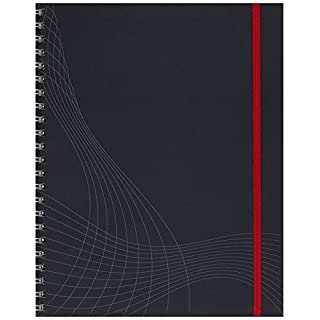 Avery Dennison Zweckform 7025 Notebook A4 Spiral-Bound Hard Cover Squared 90 Sheets