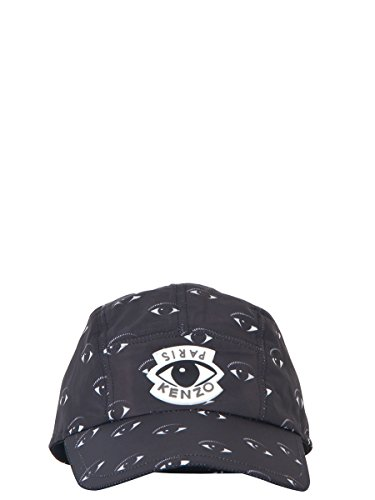 kenzo-mens-f665ac200f2699-black-polyester-hat