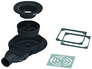 lazer 352015 bodensiphon mit horizontaler auslass f r duschwanne zum befliesen. Black Bedroom Furniture Sets. Home Design Ideas