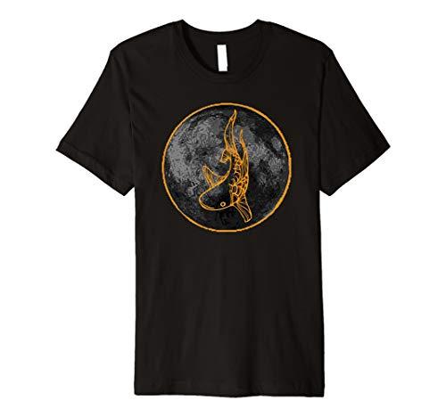 Koi Fisch Kunst auf dem besten coolen Shirt -