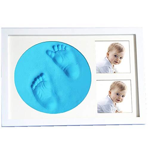 Beautiful Baby Handprint Footprint Kit Bilderrahmen-Kit Für Neugeborene Jungen Und Mädchen, Diligencer Sicher Und Einfach Zu Bedienen Geben Sie Dem Baby Das Perfekte Geschenk