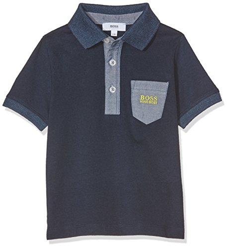 Boss Baby-Jungen Poloshirt Polo Manches Courtes, Bleu (Bleu Cargo), 18-24 Monate