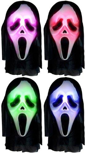 (Lustige Scream Horror Maske! Leuchtend!)