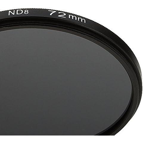 72 MM Filtro de Densidad Neutral ProND8 72 MM Para Canon 5D 7D 70D 760D 1300D para Nikon D7300 D800 D300 D600 D5400 para Sony A77 NEX 5 DSLR Cámaras