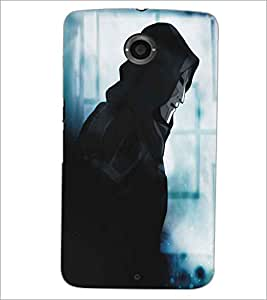 PRINTSWAG DEVIL Designer Back Cover Case for MOTOROLA GOOGLE NEXUS 6