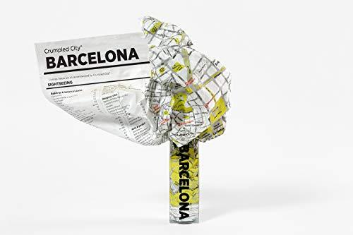 Crumpled City - Stadtplan: Barcelona