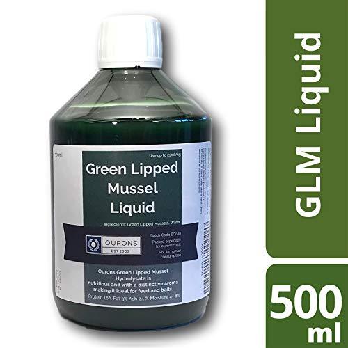 Ourons Pure Green Lipped Mussel Hydrolysate - 100% GLM Fishing Bait Liquid Uncut Premium