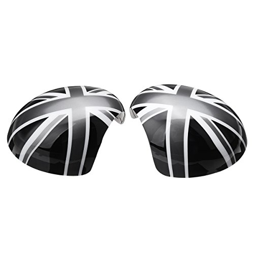 GOZAR Espejo De Ala De La Unión Gato Cubre Energía/Espejo Del Doblez De La Mano Para El Mini Fabricante De Vinos R55 R56 R57 R60-Espejo Del Doblez De La Mano