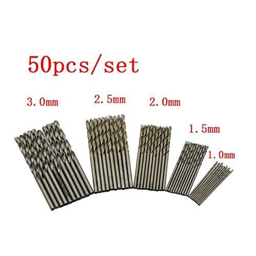 Bebliss Typ A/B/C Spiralbohrer-Set, gerader Griff, Hochgeschwindigkeitsstahlbohrer, Elektrowerkzeug, für Holz, Kunststoff, Aluminiumlegierung, Winkel, Eisen, Kunststoff, mehrere Längen, C