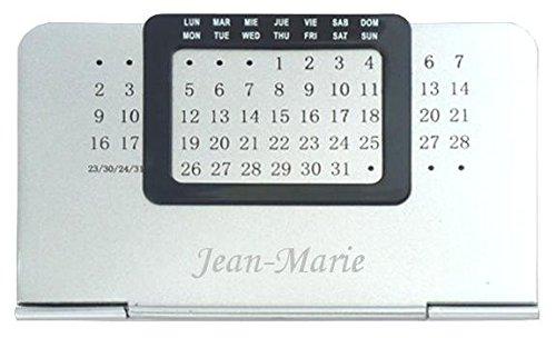 Agenda perpétuel avec le prénom: Jean-Marie (Noms/Prénoms)
