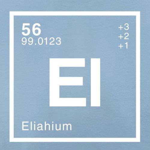 Eliah Periodensystem - Herren T-Shirt - 13 Farben Himmelblau