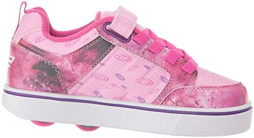 Heelys Bolt, Sneakers Basses Mixte Enfant Multicolore (Pink / Purple Space)