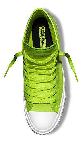 Converse Unisex-Erwachsene Chuck Taylor All Star Ii Neon High-Top Grün (Volt Green/White)