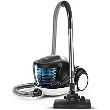 Polti Forzaspira Lecologico Aqua Allergy Natural Care Aspirador sin Bolsa con Filtro de Agua, Filtro Hepa H13, 6 accesorios, 1 Litros