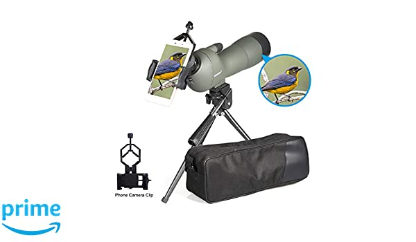 Uscamel high power 20 60x60mm zoom spektiv mit stativ: amazon.de: kamera