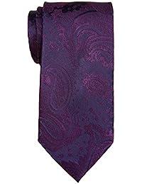 """Retreez Men's Classic Paisley Textured Woven Microfiber 3.15"""" Tie Necktie"""