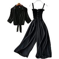 Allen Ville Designer Stylish Jumpsuit Dress with Black Shrug for Women/Girls