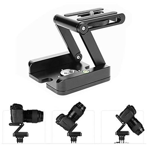 E-Greetshopping Z-Typ-Ständer Halterung Professionelles Stativ-Kit Flex Tilt Head Pan