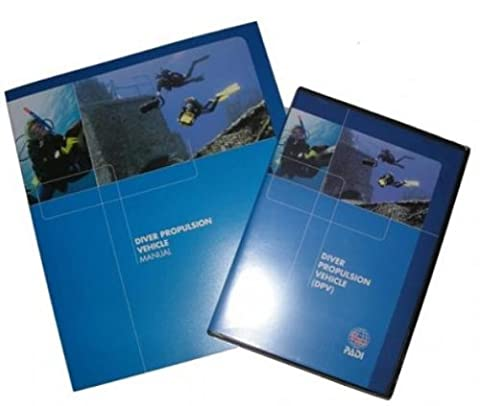 PADI Diver Propulsion Vehicle (DPV) Crew-Pak Training Materials for Scuba