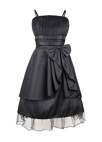 JK2 - Robe de cocktail Noeud Noir