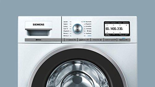 Siemens iQ800 WM14Y74D iSensoric Premium-Waschmaschine / A+++ / 1400 UpM / 8 kg / Weiß / VarioPerfect / Super15 / Antiflecken-System - 7