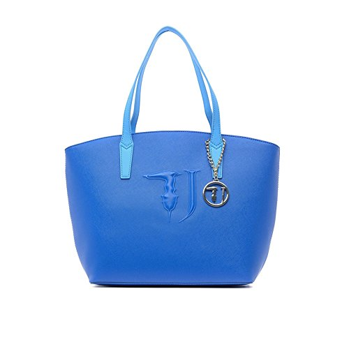 Borsa a spalla Trussardi Jeans ischia bluette Primavera Estate 2017 - 75B560XX , Bluette, UNI