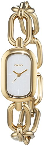 DKNY Women's Quartz Watch with Black Dial Analogue Display Quartz Stainless Steel Coated NY2311