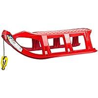 Unbekannt Rojo Grande Transparente Tatra Kid Trineo de plástico con Cuerda