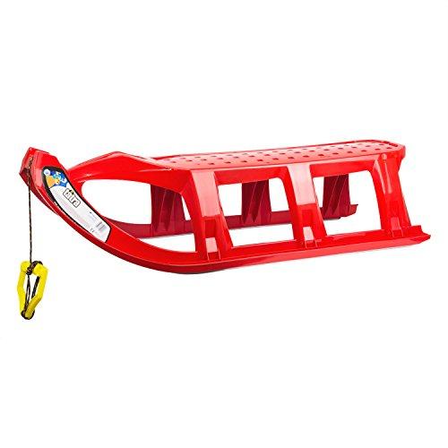 Rodel Long Schlitten Kinderschlitten XXL Sitzfläche TATRA rot 110 cm BABY