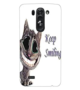ColourCraft Funny Cat Design Back Case Cover for LG G3 S