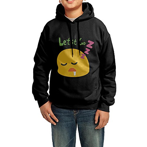 onlyprint-youth-let-it-go-emoji-boys-girls-hoodies-sweatshirt-size-xl-us-black