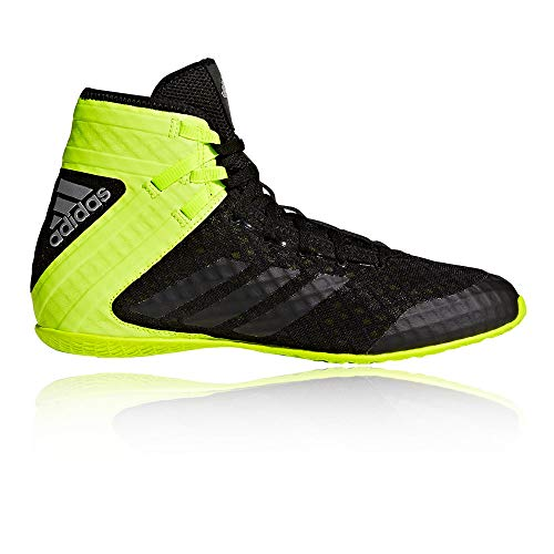 the best attitude a21c7 7ad3b adidas Speedex 16.1, Zapatos de Boxeo para Hombre, Negro (Schwarz Gelb