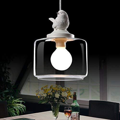 YLCJ Lámpara colgante vintage retro de Lámpara de techo industrial Metal E27 Campana ajustable en altura para cocina Comedor Restaurante Granero Garaje de araña para autos (Color: Amarillo) (Autos Para Cristales)