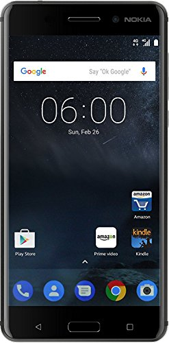 (CERTIFIED REFURBISHED) Nokia 6 (Matte Black, 32GB)