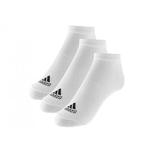 Aller guten Dinge sind drei - genau wie die adidas Ankle Socks. Die Kombi-Packung besteht aus drei Paar komfortabler, niedrig geschnittener Sportsocken. Auf jeder Socke ist oben das Performance Logo zu sehen.Drei Paar pro PackungKnöchelhohe Socke mit...