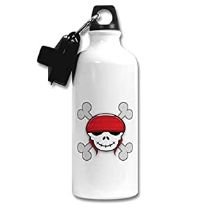 Skull | ShopTwiz Printed Sports Sipper / Water Bottle ( Aluminium ) 600 ml