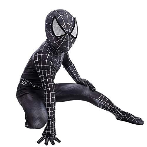YEGEYA Spiderman Cosplay Kostüm Schwarze Turnschuhe Halloween Party Strumpfhose Kind Requisiten (Color : Black, Size : - Cosplay Kostüm Astrid