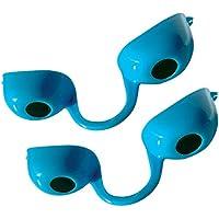 Gafas de protección multiusos filtro UV-Paquete individual-Juego de 2