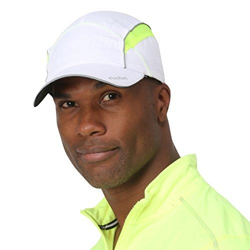 TrailHeads, cappello con visiera riflettente, white / hi-vis