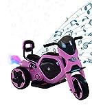 AIREL Motocicletta Elettrica per Bambini | Moto Elettriche per Bambini | Motocicletta Elettrica con Musica e Luce | Moto a Batteria per Bambini | Mini Moto Elettrica per Bambini| 1-4 anni