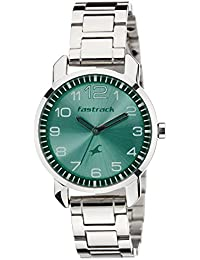 Fastrack Analog Green Dial Women's Watch -NK6111SM02