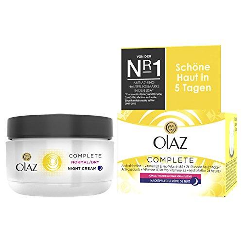 OLAZ Essentials Complete Nachtcreme, Tiegel