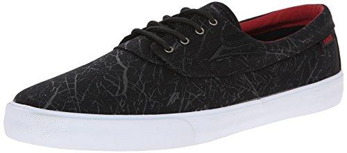 Lakai Camby Oasis Herren Skateboardschuhe Schwarz - Noir (Marble Canvas)