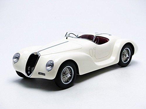 Minichamps 107120232-Alfa-Romeo 6C SS Corsa Spider-1939-1/18-Blanco