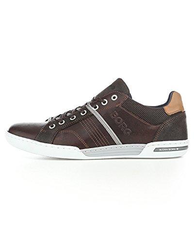bjorn-borg-roscoe-schuhe-dark-brown-light-grey-42