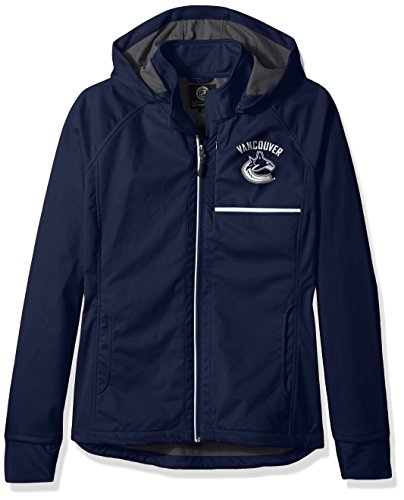 GIII For Her Schnitt Rückseite Soft Shell Jacke, Damen, Cut Back Soft Shell Jacket, Navy, X-Large -