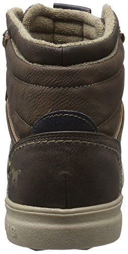 Mustang Herren 4108-502 High-Top Braun (3 Braun)