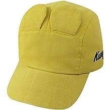 BHYDRY Sombrero Ajustable de Verano para niños Polo Gorra de béisbol ... f9da93eb218